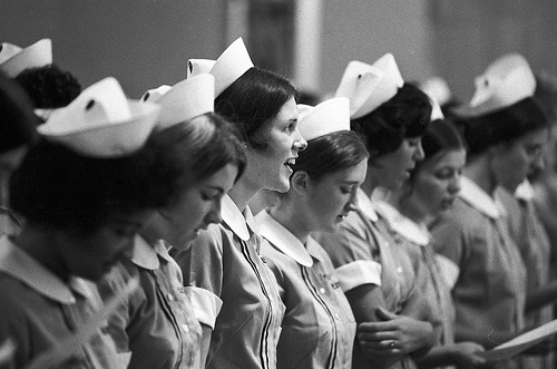 Nurses in uniforn