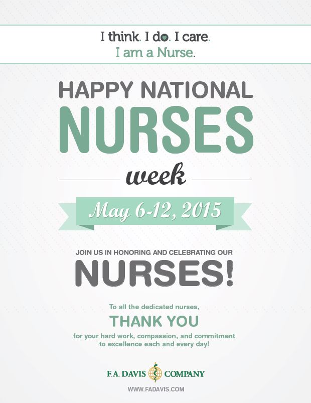 Happy National Nurses Week 2015