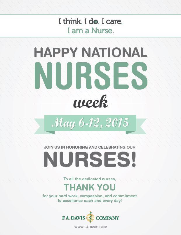 Happy National Nurses Week 2015