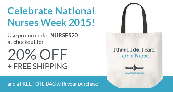 Celebrate National Nurses Week free tote bag