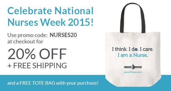 Celebrate National Nurses Week free tote bag