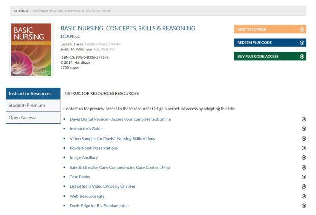 New DavisPlus product page