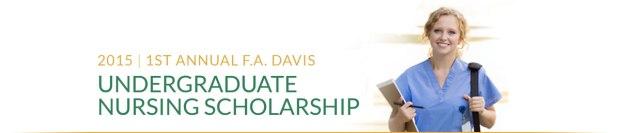 F.A. Davis Undergraduate Nursing Scholarship