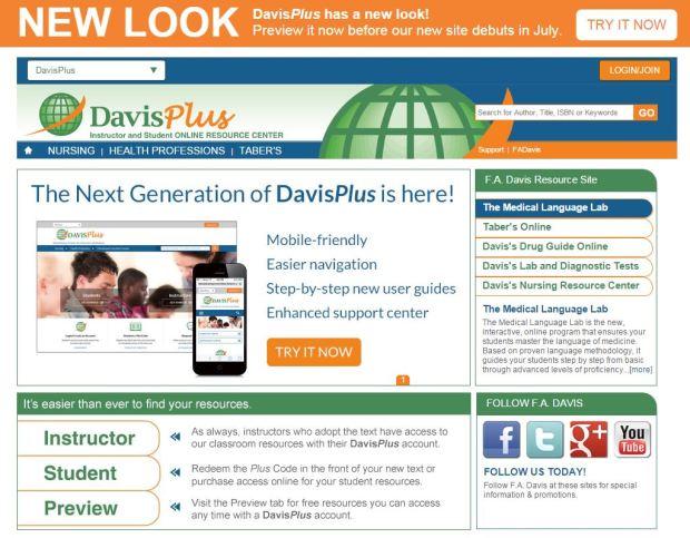 Old DavisPlus