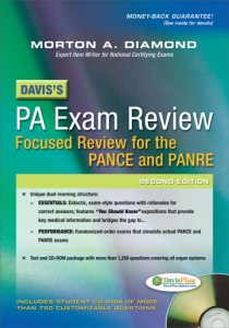 Davis's PA Exam Review for the PANCE and PANRE Morton Diamond