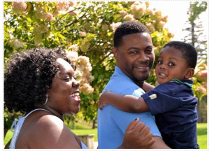 Kwamia Sanford and family Graduate Scholarship Winner